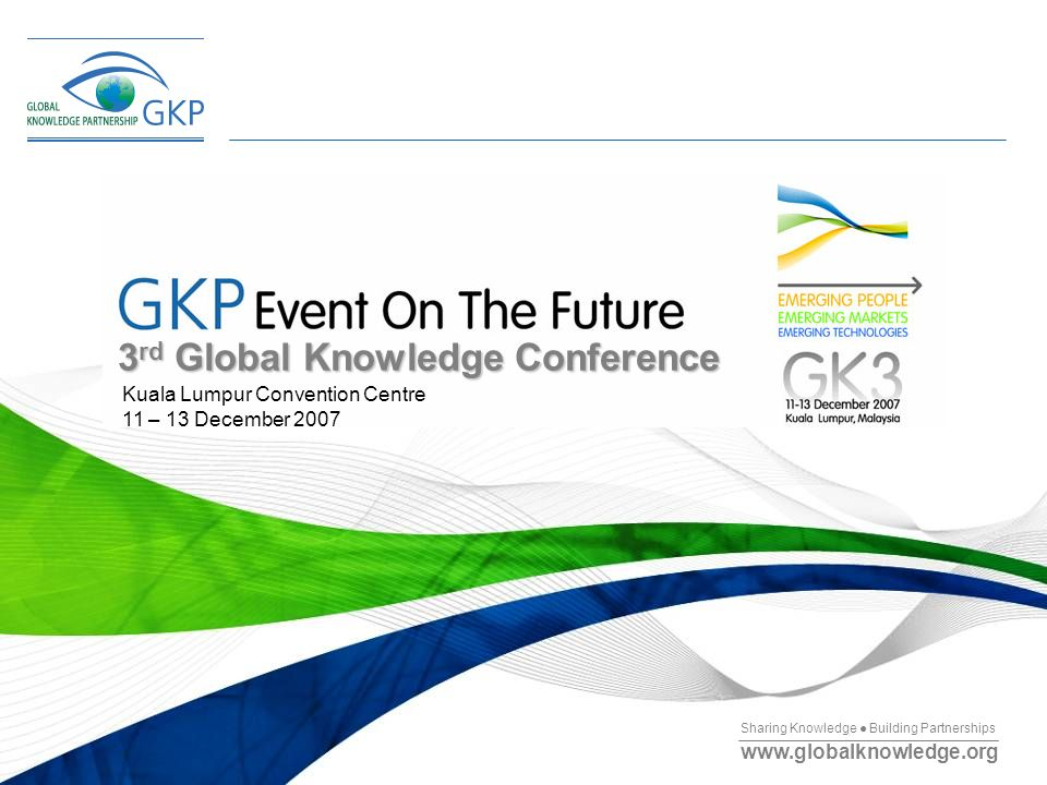 3rd Global Knowledge Conference