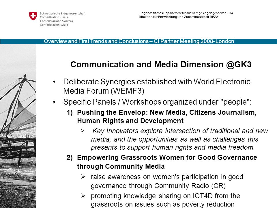 Specific Panels / Workshops organized under people :