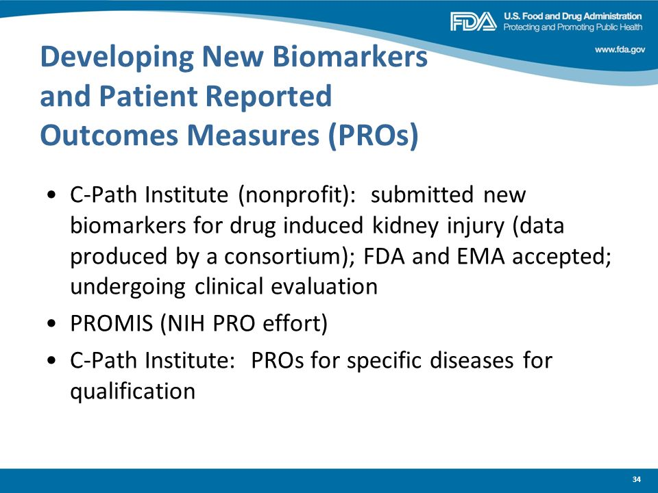 Developing New Biomarkers and Patient Reported Outcomes Measures (PROs)