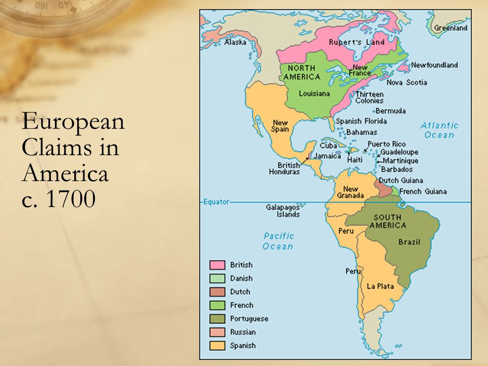 European Claims In America 1700 Image Gallery With European Claims