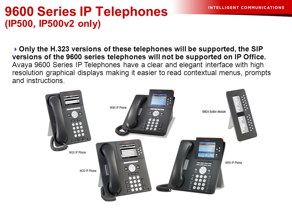 Operation Of Avaya Ip 96005600 Phones Ppt Video Online Download