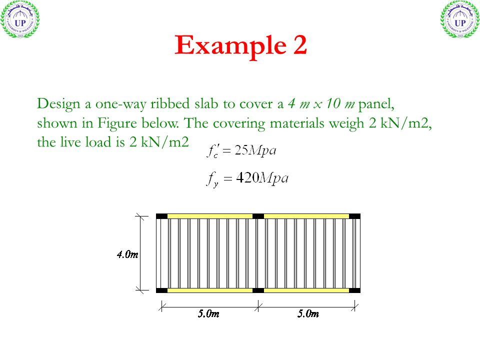 Floor Slab Design Example