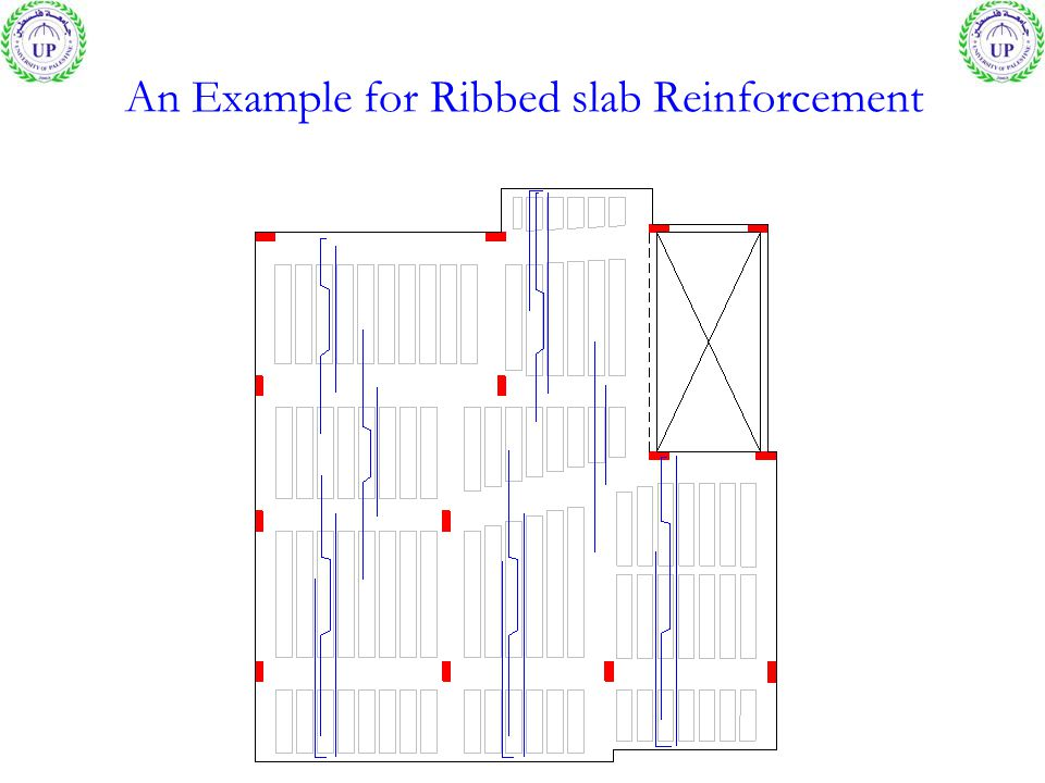 An Example for Ribbed slab Reinforcement