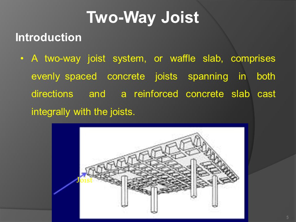 Two-Way Joist Introduction