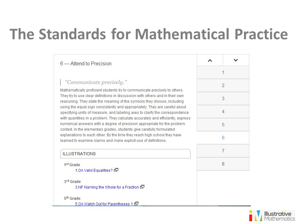 Illustrative Mathematics and Coherence in the Standards - ppt video ...