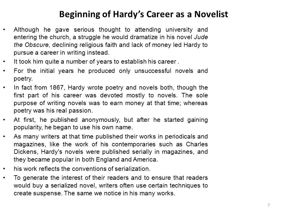 thomas hardy writing style