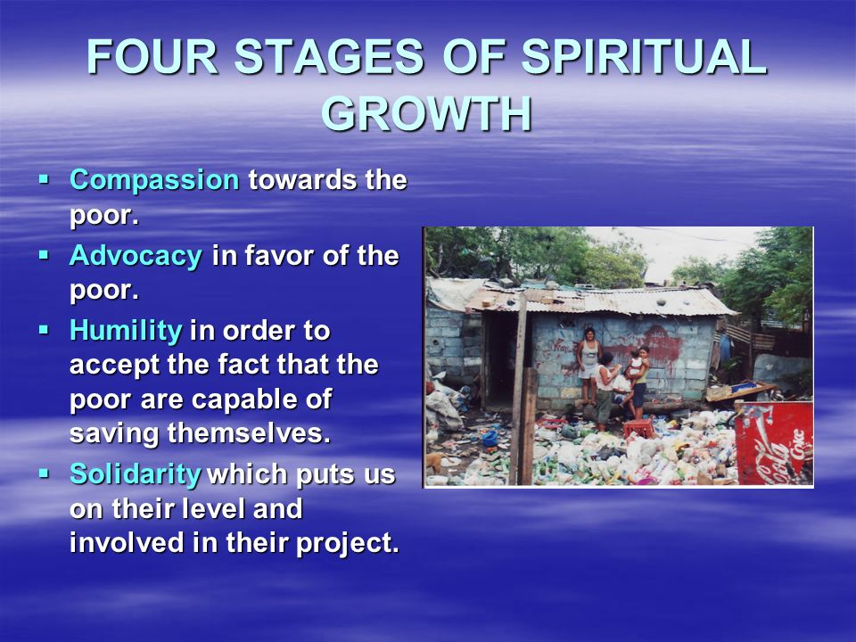 FOUR STAGES OF SPIRITUAL GROWTH