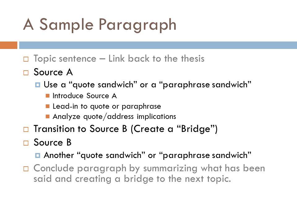 sample paraphrase sentences
