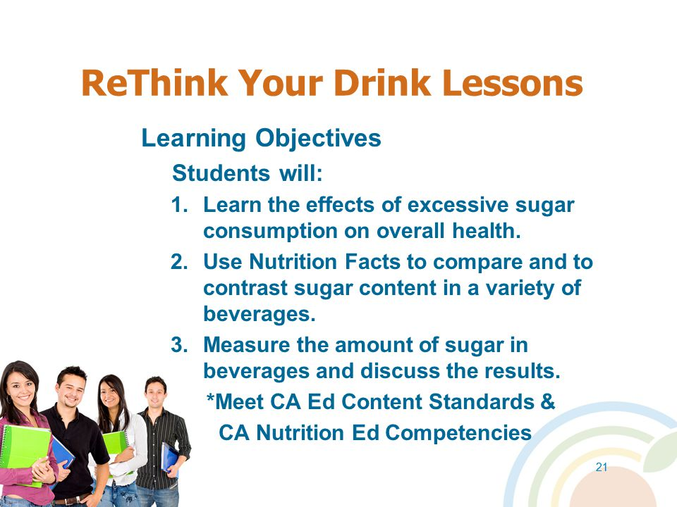 ReThink Your Drink Lessons