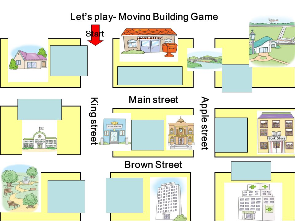 Let's play- Moving Building Game