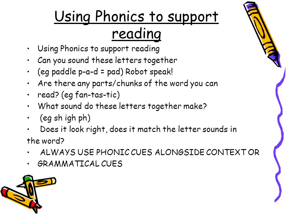 what word do these letters make st andrew s ce primary school ppt 25602 | Using Phonics to support reading