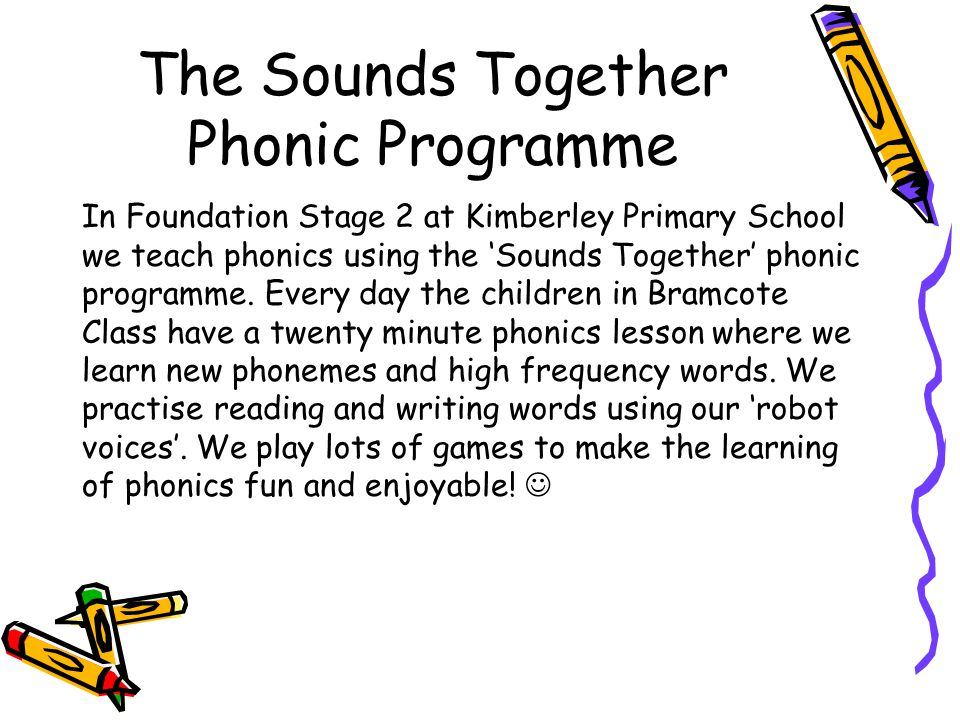 The Sounds Together Phonic Programme