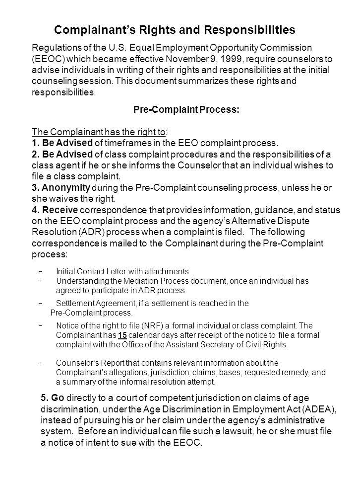 Eeo Settlement Agreement Images Agreement Letter Format