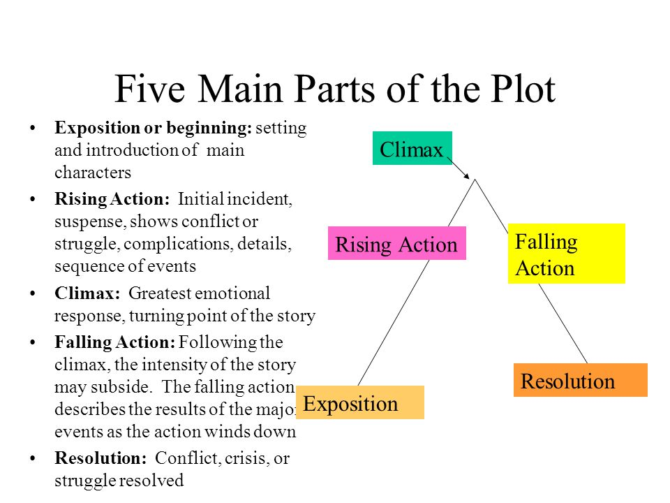 Five Main Parts of the Plot