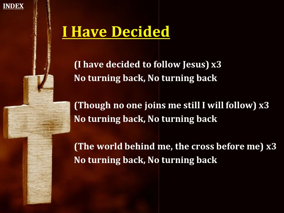 i have decided to follow jesus - 960×720