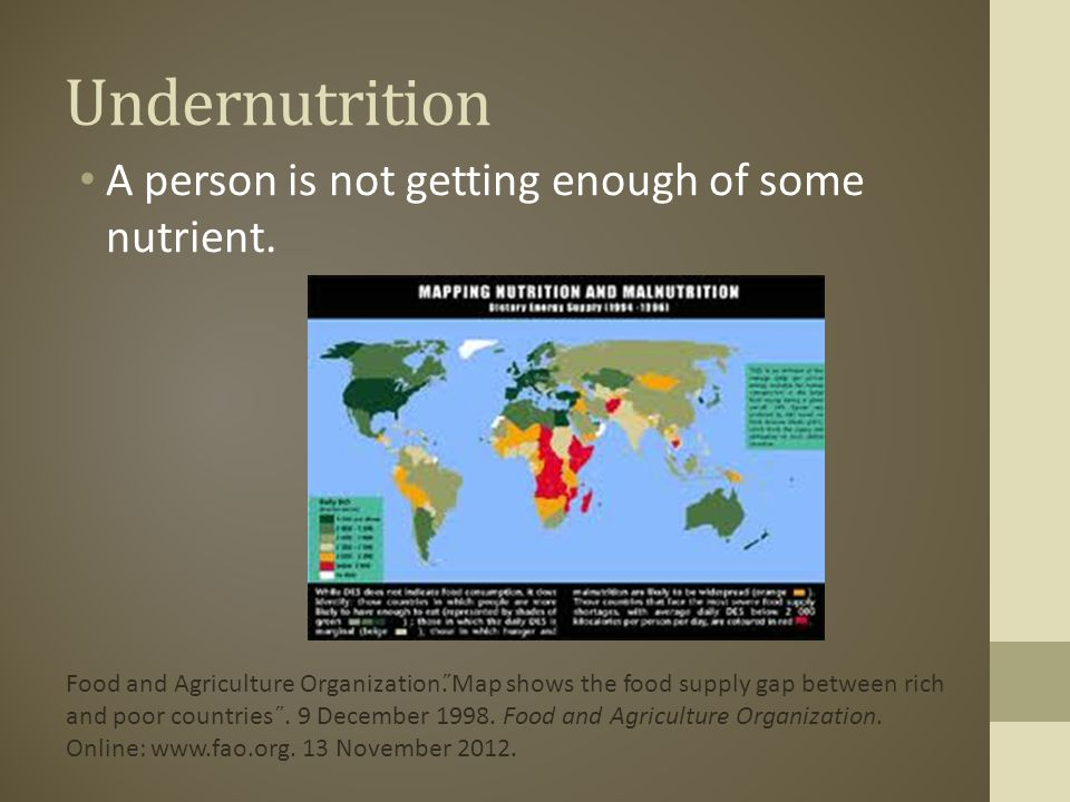 malnutrition reaction paper Sample preliminary report outlines this presents three different sample outlines for the preliminary research report, using different research topics presented in an earlier english 102 class (april 2011.