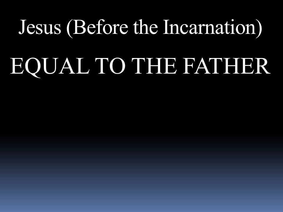 Jesus (Before the Incarnation)