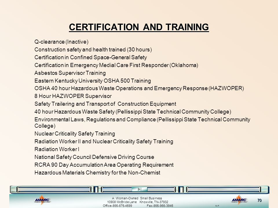 Welcome to the AMARC Safety Training Presentation - ppt download