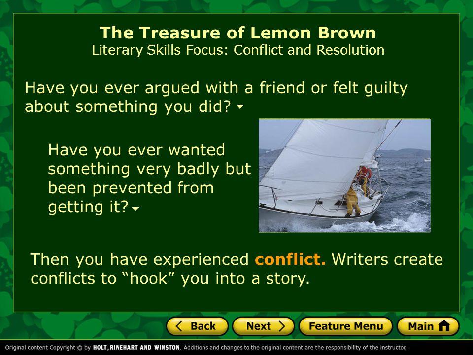 the treasure of lemon brown full text