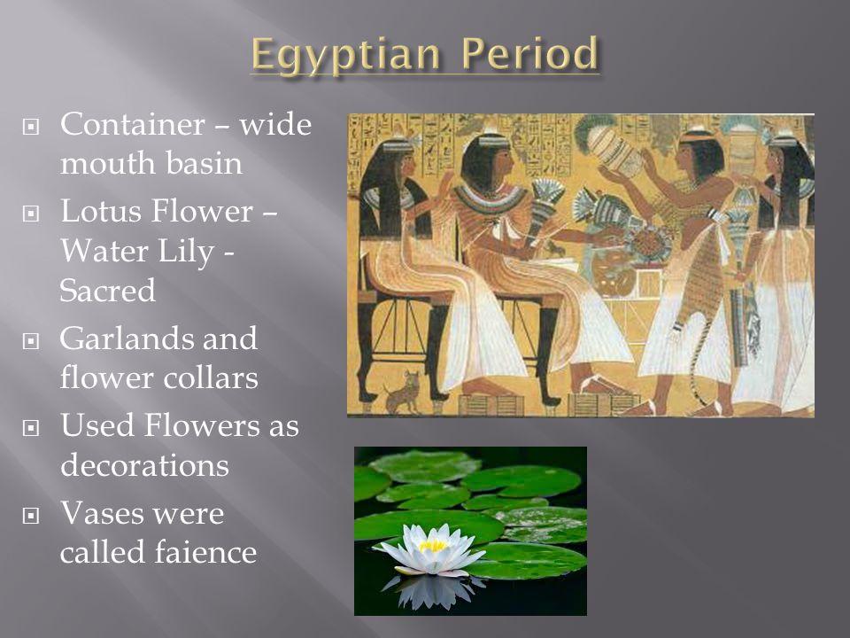 Chapter 1 History Of Floral Design Ppt Video Online Download