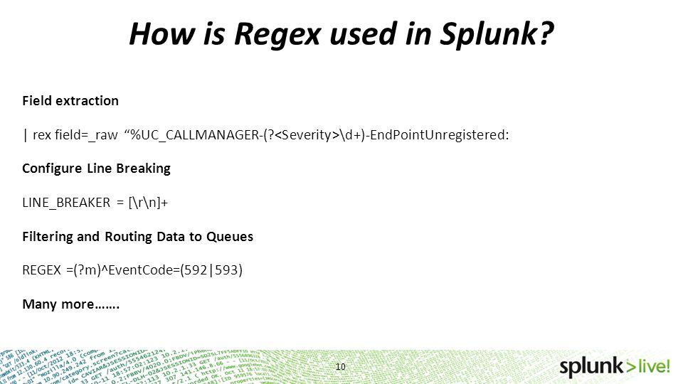 Regex is Fun David Clawson SplunkYoda  - ppt download