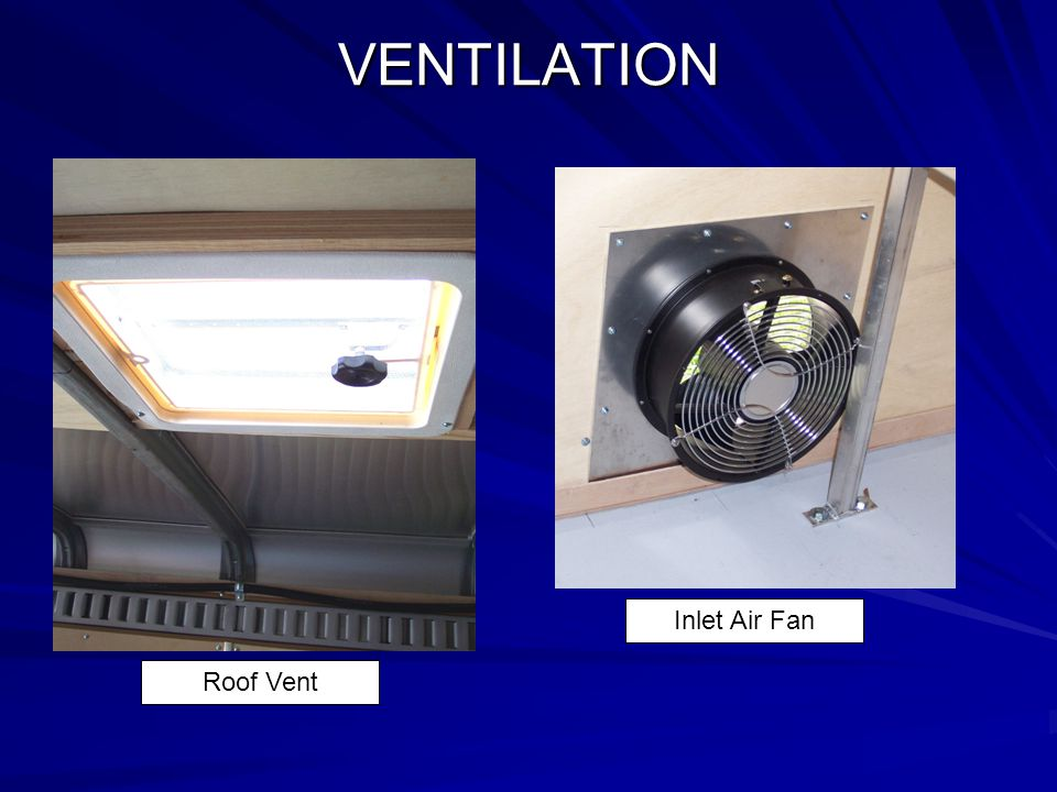 VENTILATION Inlet Air Fan Roof Vent
