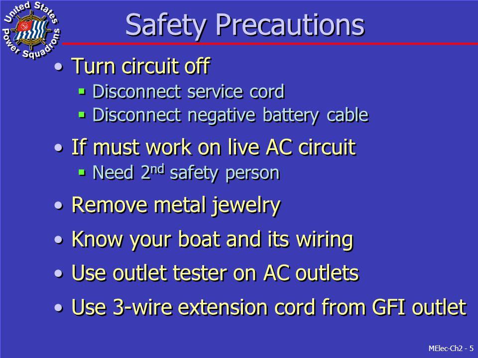 5 safety precautions