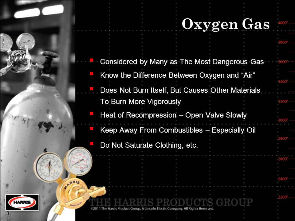 Oxygen Gas Considered by Many as The Most Dangerous Gas