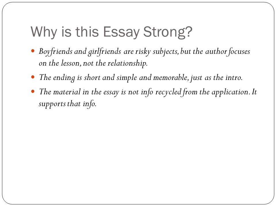 ending a essay the bad college essay ppt video online is an