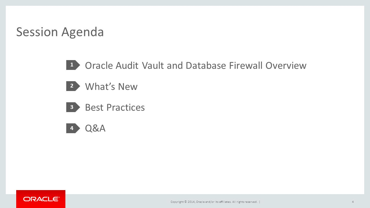 Oracle Audit Vault and Database Firewall - ppt download
