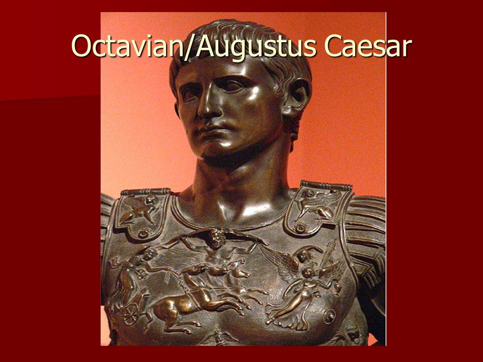 octavian augustus caesar