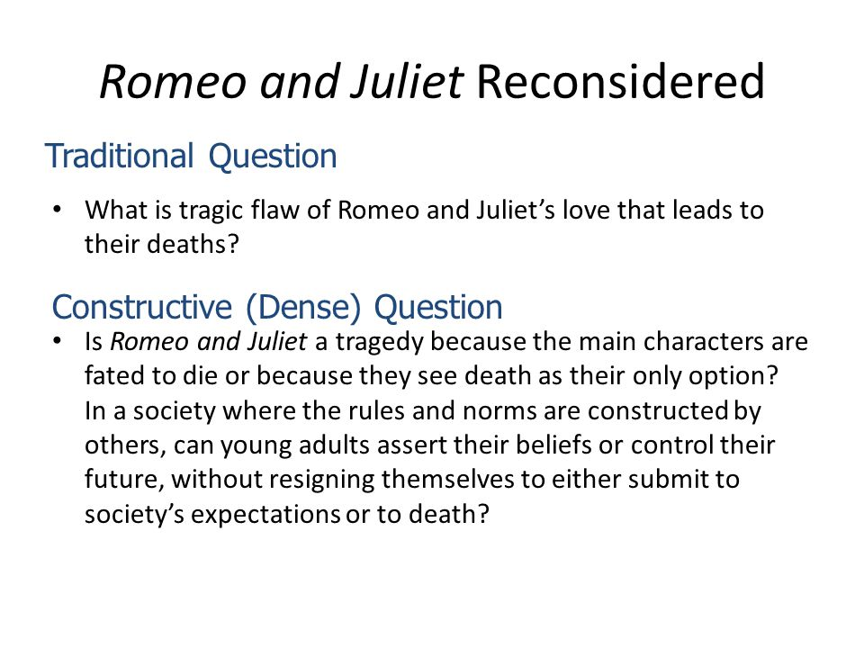 Assignments Writing Services Romeo And Juliet Reconsidered I Need Help With My Assignment also Teaching Essay Writing High School Revision Main Themes Key Scenes Character Possible Essay Questions  Proposal Essay Format