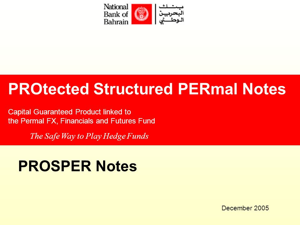 Protected Structured Permal Notes Ppt Download -