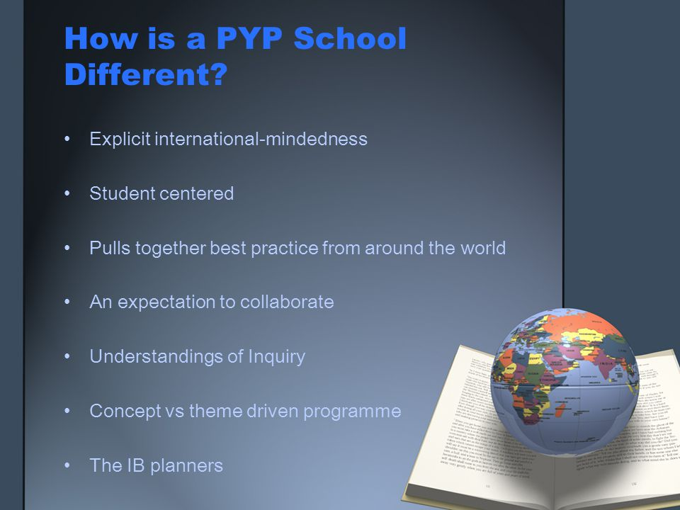 How is a PYP School Different
