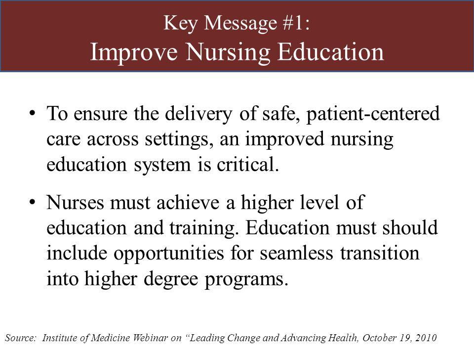 Transforming Nursing Education Ppt Download