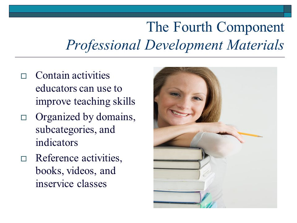 The Fourth Component Professional Development Materials