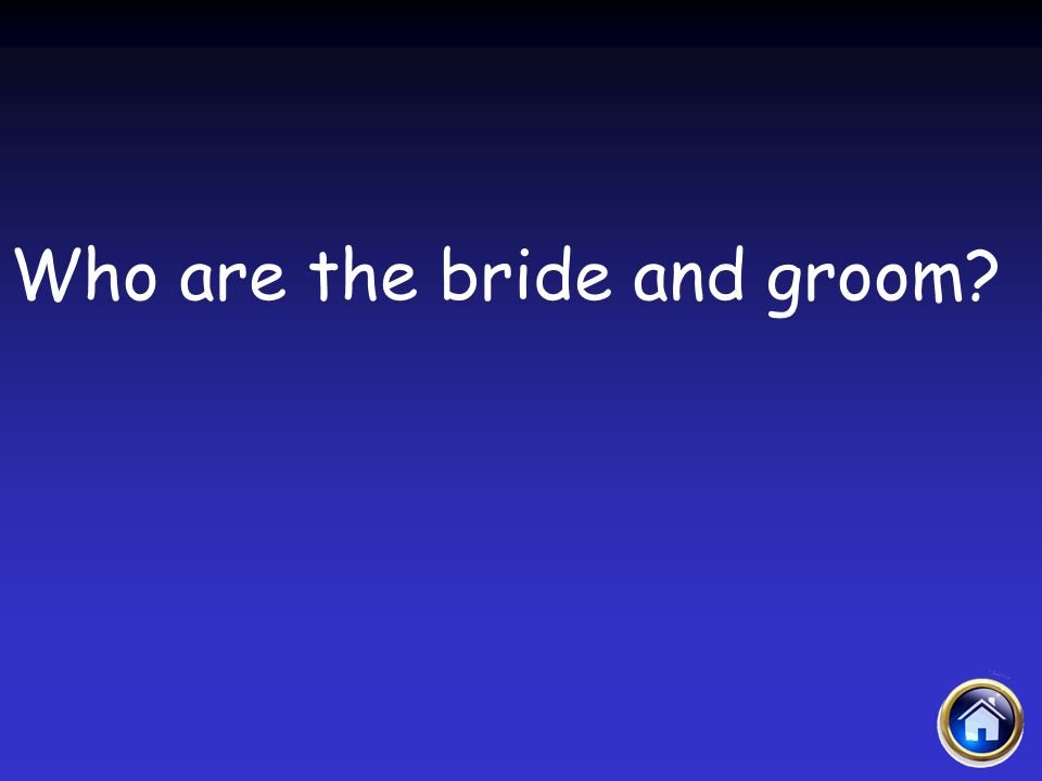 Who are the bride and groom