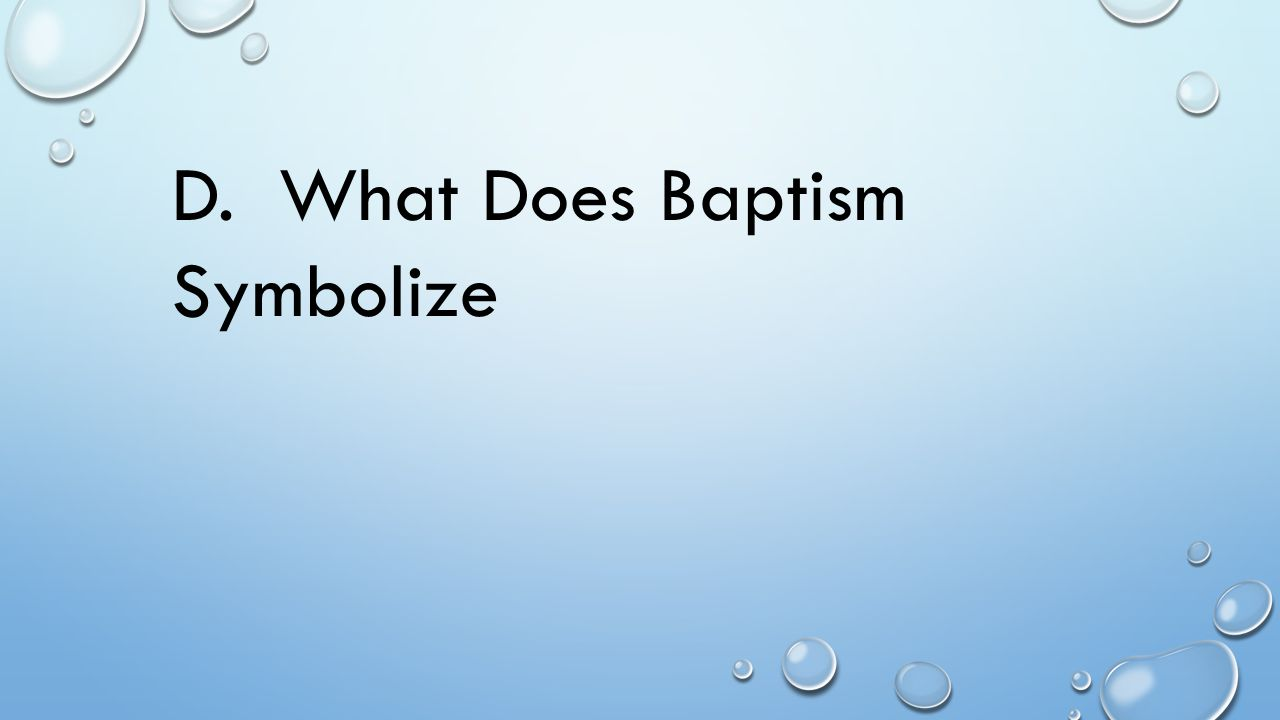 Bible Answers To Questions On Baptism Ppt Video Online Download