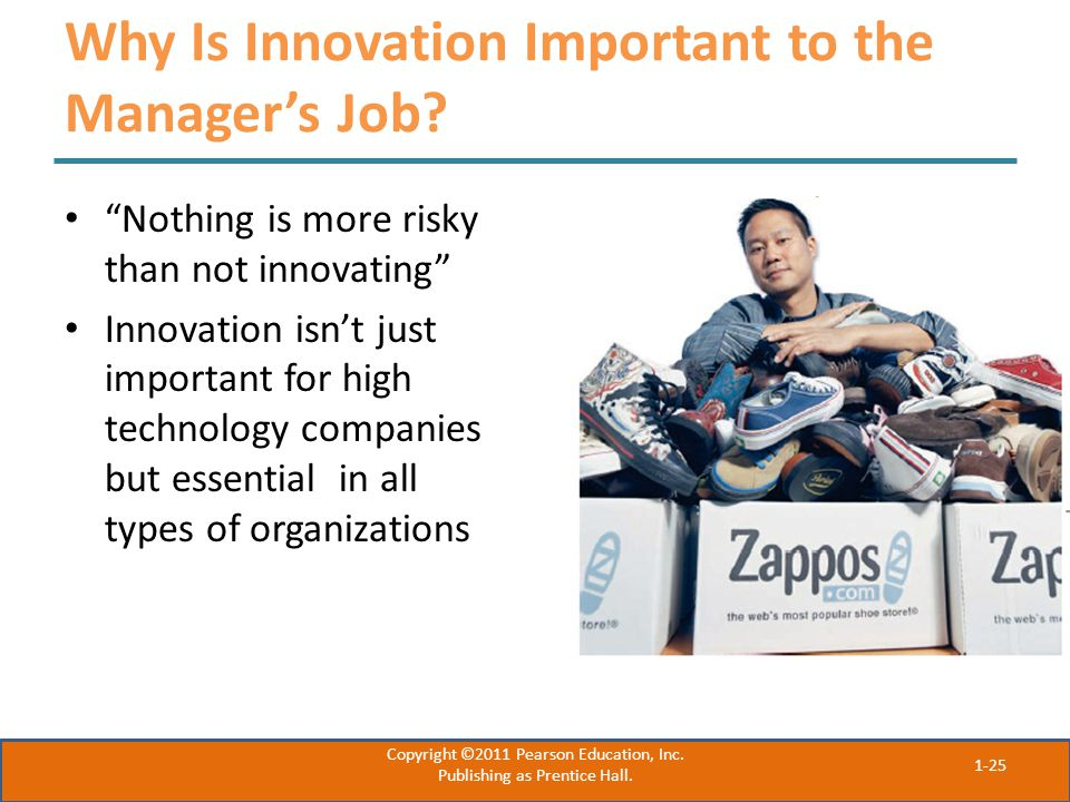 Why Is Innovation Important to the Manager's Job