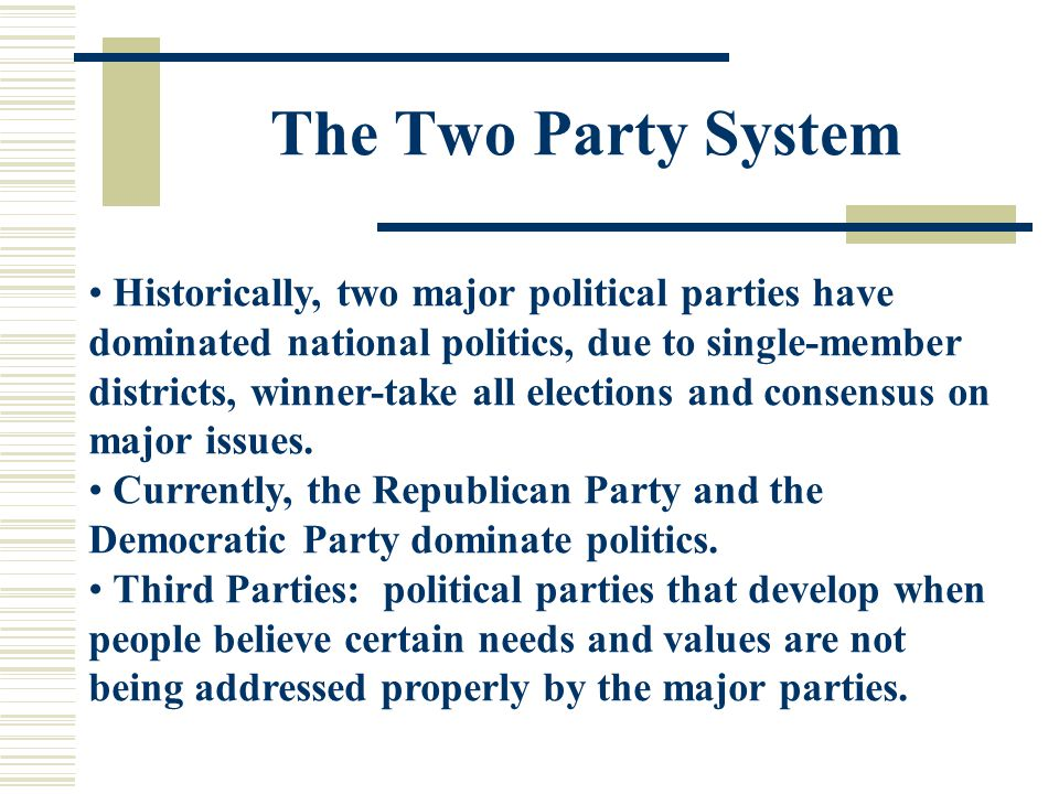 domination Political party