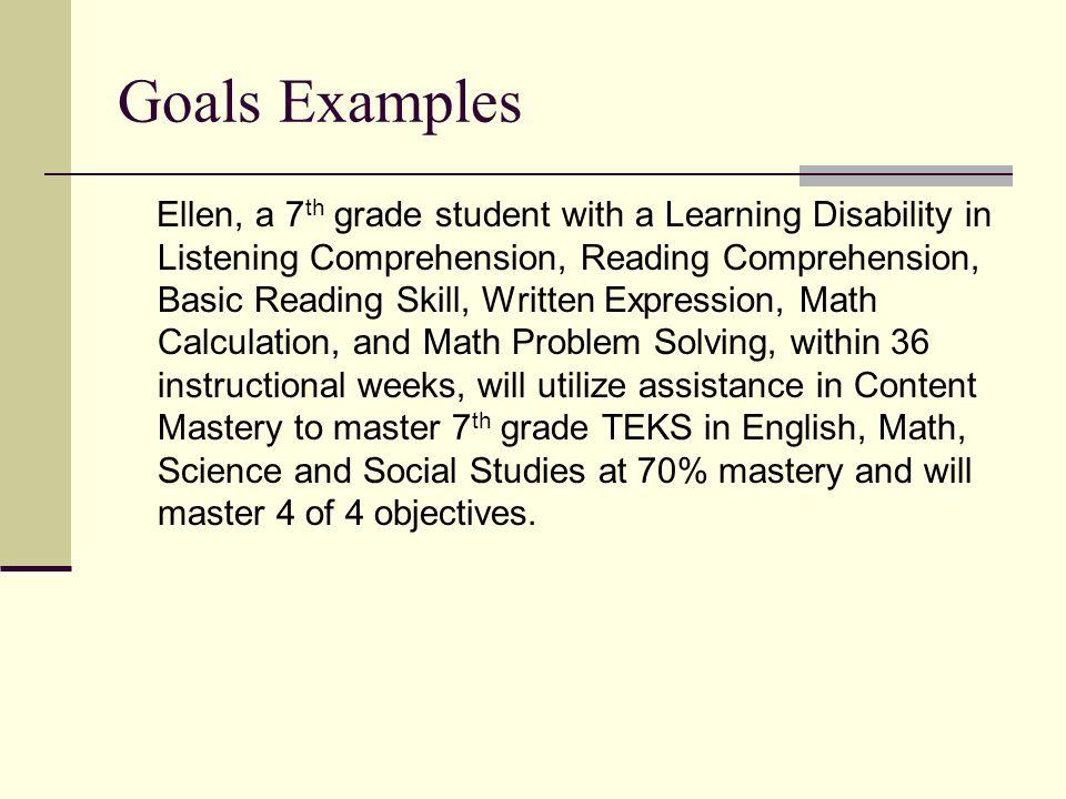 Making Sense Of Standard Based IEPs Ellen Waters MS Ppt