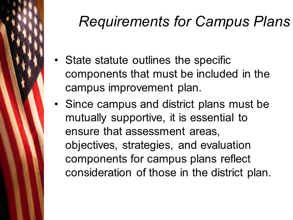 Requirements for Campus Plans