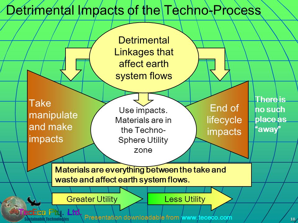 Detrimental Impacts of the Techno-Process