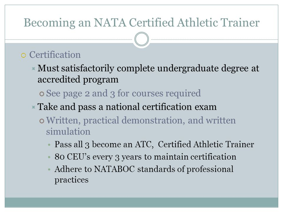 Introduction To Athletic Training Ppt Video Online Download