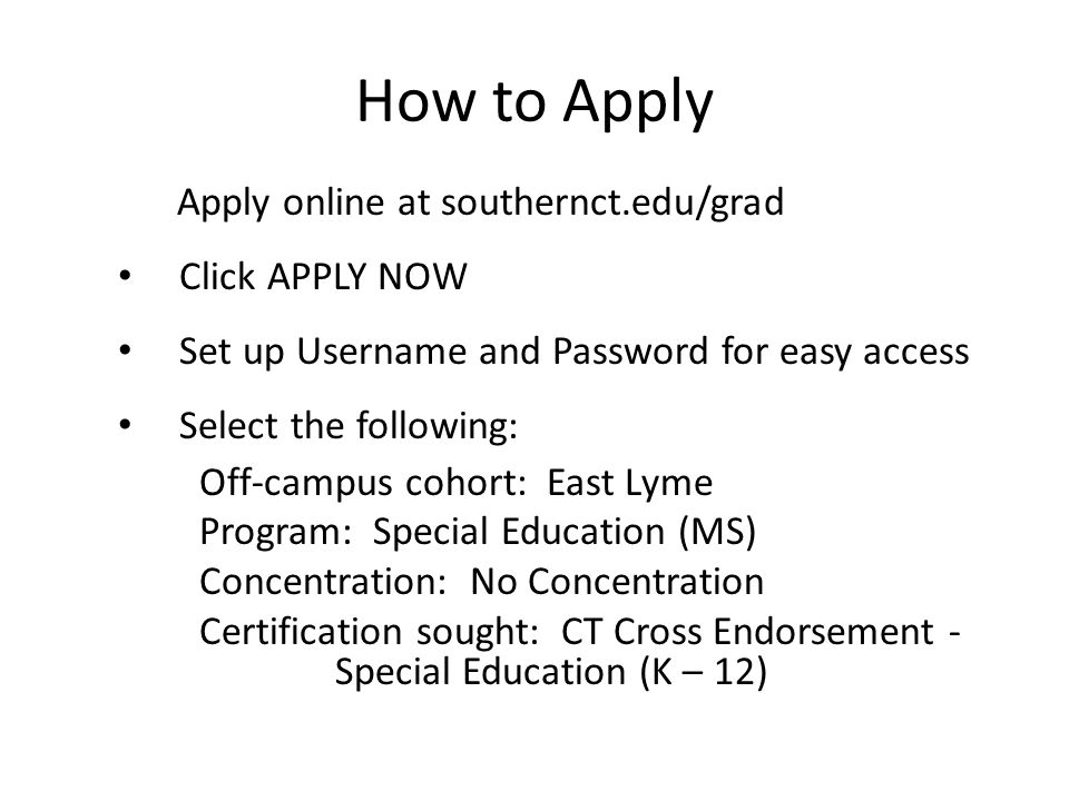 Welcome To Southern Connecticut State University In East Lyme Ppt