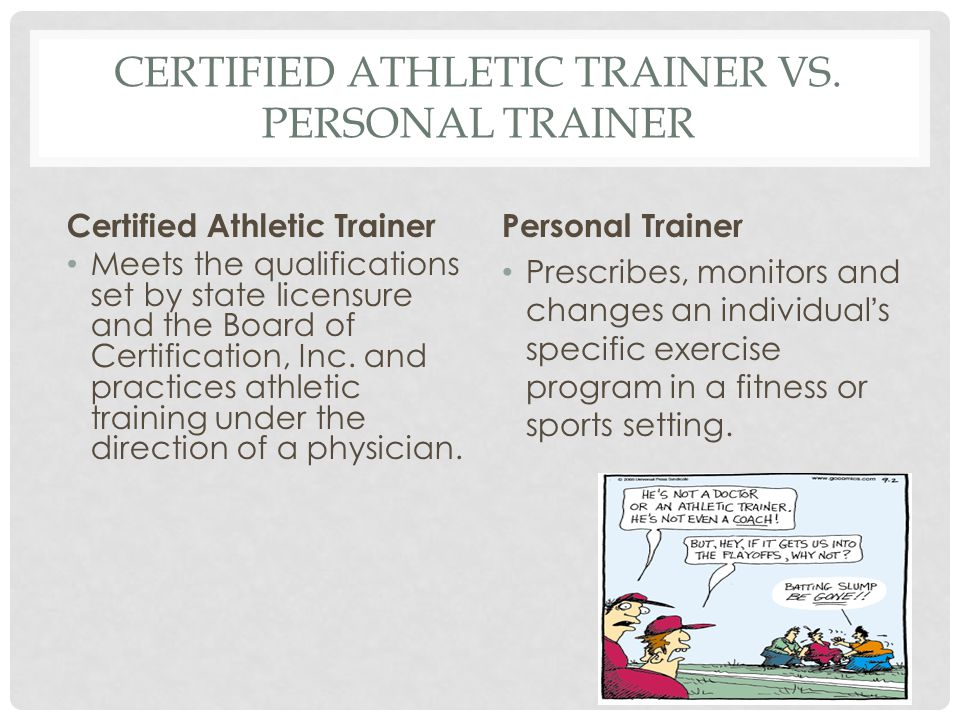 Athletic training Chapter ppt video online download