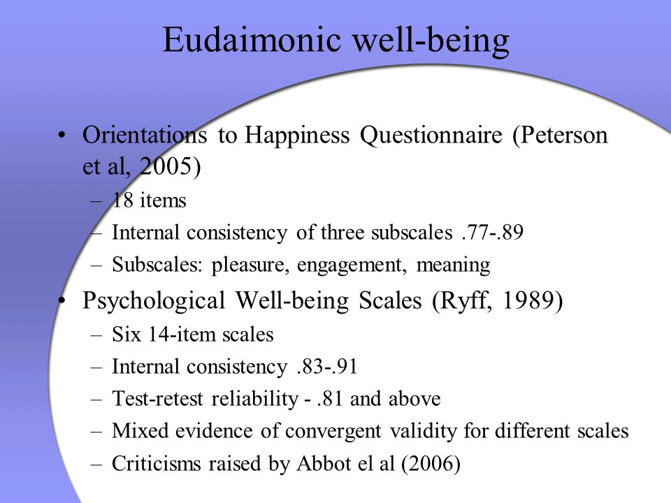 ryff 1989 psychological well being