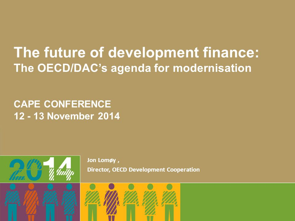 The future of development finance: The OECD/DAC's agenda for modernisation