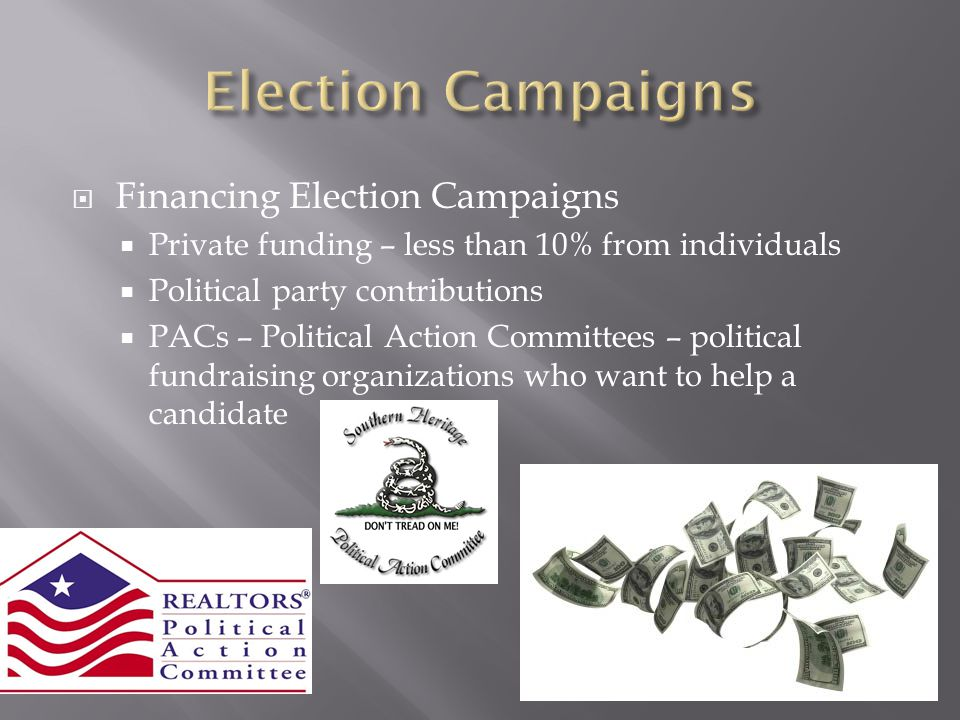Election Campaigns Financing Election Campaigns