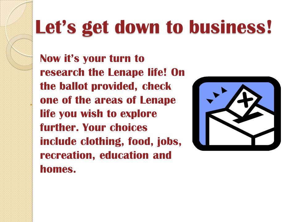 Lenni Lenape Research Project Ppt Download